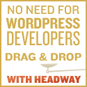 Headway WordPress Theme Ad