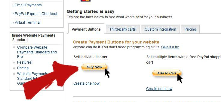 PayPal WordPress Create Payment Button
