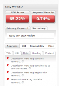 Easy WP SEO Review pic 2