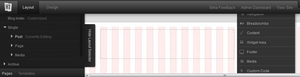 Headway Theme 3.0 Visual Editor