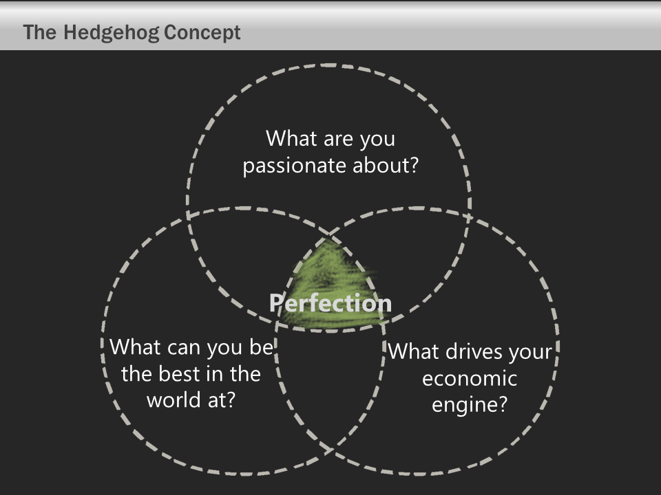 Hedgehog Concept - Venn Diagram