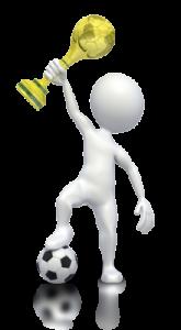hedgehog principle holding soccer cup