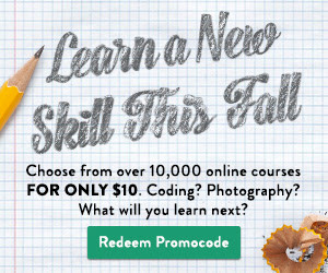 Udemy Coupon Code September 2015